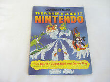 1991 Consumer Guide THE WINNER'S GUIDE TO NINTENDO Book Super NES Game Boy Mario