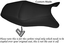 CARBON FIBRE VINYL CUSTOM FITS HONDA CBR 1100 XX SUPER BLACKBIRD 96-07 COVER