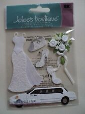 EK SUCCESS JOLEE'S BOUTIQUE BRIDE DIMENSIONAL STICKERS BNIP