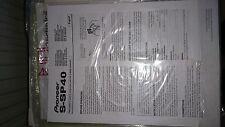 Altoparlante PIONEER s-sp40 5 sistema manuale di istruzioni (ottime condizioni)