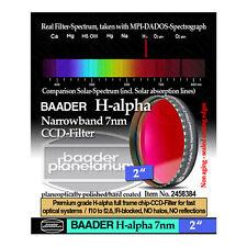 """Baader 2"""" Narrowband H-Alpha Filter (7nm)  # FHALN-2 # 2458384"""