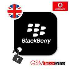 BLACKBERRY 9315 9320 9720 CODE DÉVERROUILLAGE ROYAUME-UNI VODAFONE