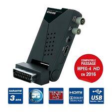 FULL HD RECEPTEUR TNT HD TERRESTRE CAMPING ALIMENTATION 230V /12V SNT160HD SEDEA