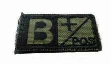 Condor Blood Type Morale Patch B Positive B+ Olive / Black 229B+001 Velcro