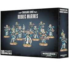 10 Rubric Chaos Marines Thousand Sons Horus Heresy! Games Workshop Warhammer 40K
