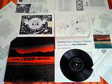"PRIVATE LOT RESIDENTS-style BLITZOIDS ""Stealing from Children LP+PROMO FLEXI+KIT"