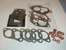 Maserati Biturbo EXHAUST MANIFOLD TURBO GASKET SET with Copper Nuts *New*
