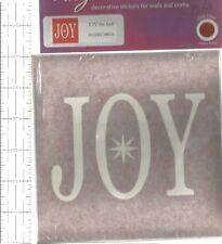 Removable Vinyl Wall Mirror Windows Ceramic Decor Red Joy   B116