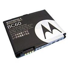 Batteria Motorola BC60 K1 L2 L6 L7 L8 V3x SLVR 100% Originale con Garanzia