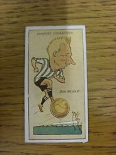 1927 MAC: No.25, Newcastle United  - Bob McKay [Football Caricature Card Issued