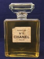 Rare Vintage Chanel No.5 Huge Factice Dummy Display Bottle  Over 8'' Tall