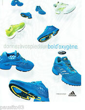 PUBLICITE ADVERTISING 056  2003  Adidas  baskets  climacool