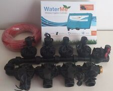 """WaterMe-WiFi Irrigation Controller+8 Zone Solenoids Combo+Qty1x1""""Master Solenoid"""