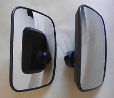 2 x Wide Angle Blind Spot Mirror Truck Lorry Caravan Van Bus Recovery 24V Heated