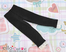 ☆╮Cool Cat╭☆【BT-L02】Blythe Tights / Trousers with Lace # Black