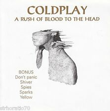 COLDPLAY A Rush Of Blood To The Head CD + 5 Bonus Tracks