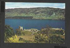 Arthur.Dixon Colour Postcard Urquhart Castle Loch Ness Inverness-Shire Scotland