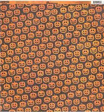 Reminisce - Wicked Jacks Halloween Scrapbooking Paper 12x12 Double Sided