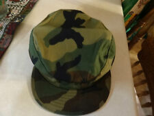 MILITARY US ARMY USAF BDU CAP HAT BATTLE DRESS BDUS CAMOFLAGE 7 1/4