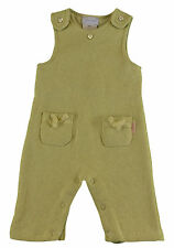 JACADI Girl's Adverbe Lime  Green Long Dungarees Age: 3 Months NWT $53