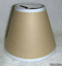 Adhesive Mini Chandelier Lamp Shade - use your fabric for any room.