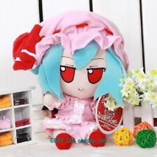 """NEW Small Nice Touhou Project Remilia Scarlet Plush Doll Toy 8""""H"""
