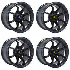 15x8 MST MT04 4x100 0 Black Wheel New set(4)