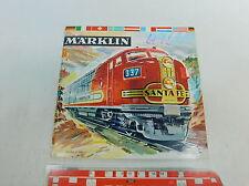 AV337-0,5# Märklin/Marklin Katalog 1961/62 D DM (mit Gutschein)