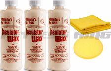3 New Collinite 845 Car Auto Liquid Insulator Wax 16oz Bottle Cleaner #845