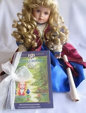 Princess Emma Doll Porcelain by Theresa LoBue Heirloom of the Heart Collection
