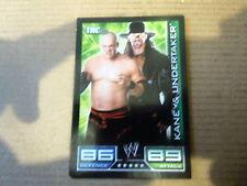 Carte - Catch  Topps Slam Attax 2008 - Tac Team - Kane & Undertaker