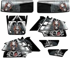 YAMAHA BANSHEE GRAPHICS WRAP DECAL STICKER KIT TURBO CHARGED BLACK