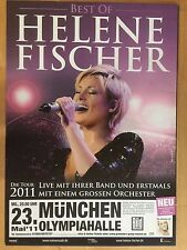 HELENE FISCHER  2011  MÜNCHEN   -- Konzert Plakat - CONCERT POSTER  A1 NEU
