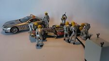 Scalextric C8292 Pit Crew - Yellow Set of 8 Figures 1:32 Scale (PL)