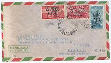 """AMG-FTT  - TRIESTE """"A"""" - RARO AEROGRAMMA per RARISSIMA DESTINAZIONE - d'archivio"""