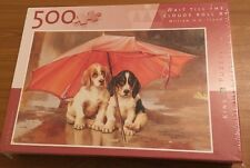 KING 500 PIECE JIGSAW PUZZLE  'WAIT TILL THE CLOUDS ROLL BY' **SEALED**