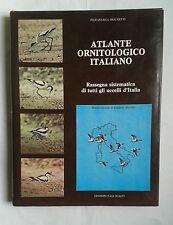 Pierandrea Brichetti, ATLANTE ORNITOLOGICO ITALIANO, F.lli Scalvi, 1976