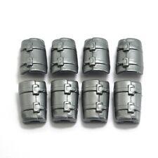 playmobil® Ritter | Römer | Wikinger: 8 x Armschutz | Manschette | Stulpe silber
