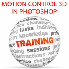 Control De Movimiento 3D en Photoshop y After Effects-Video Tutorial DVD de entrenamiento