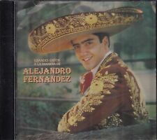 Alejandro Fernandez Grandes Exitos A La Manera  CD USED LIKE NEW