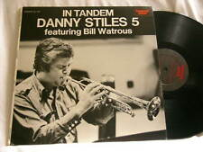 DANNY STILES 5 In Tandem BILL WATROUS Milt Hinton Derek Smith Bob Rosengarden LP