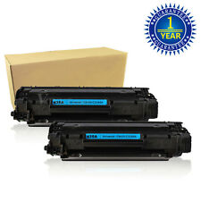 2PK CB435A Black Toner Cartridges For HP 35A Laser Jet P1004 P1005 P1006 P1009