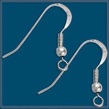 100 Sterling Silver Earring Finding Ear Wire Hook