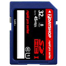 32GB NEW 7dayshop Rapid-Pro SDHC SD Memory Card 45MB/s Class 10 UHS-1 - 32GB