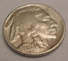 "1930 S INDIAN HEAD ""BUFFALO"" NICKEL  **FREE SHIPPING**"
