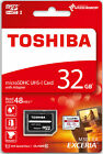 Toshiba 32GB Memory Card UHS-I Class 10 Micro SD SDHC High Speed 48MB/s