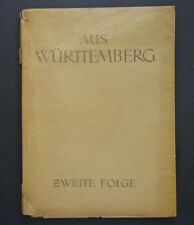 Aus Württemberg, illustrations by Otto Breitling 1948 INV2465