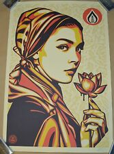 Shepard Fairey OBEY GIANT Natural Springs SIGNED Poster PRINT Offset 24x36