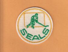 VINTAGE OLD NHL OAKLAND SEALS 2 inch LOGO PATCH UNUSED UNSOLD STOCK