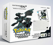 NEW Nintendo DSi Pokemon White Version Handheld System Bundle Limited Edition